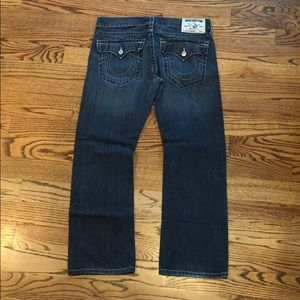 Men's True Religion Blue Jeans 36W/32L